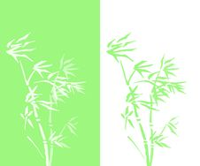 Free Abstract Double Bamboo Vector Stock Photos - 14809523