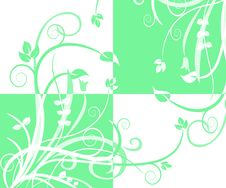 Free Abstract Quad Foliage Vector Royalty Free Stock Images - 14809589