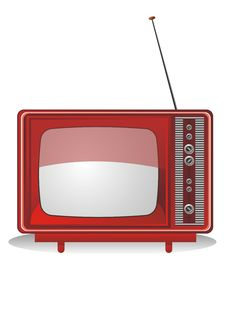 Free Retro Television Royalty Free Stock Image - 14809966