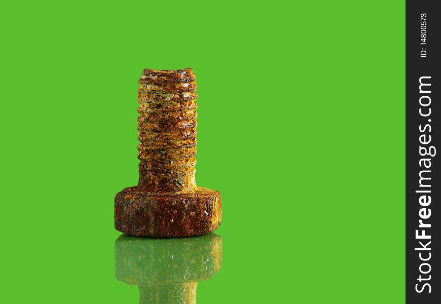 Rusty screw