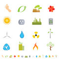 Free Green Environment Icons Stock Images - 14816324