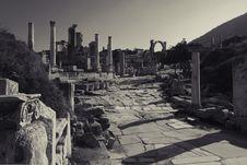 Free Ruins Of Ephesus, Turkey Royalty Free Stock Photo - 14810005
