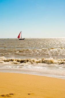 Free Boat In The Sea Stock Photography - 14811072