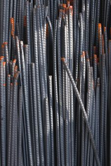 Free Blue Steel Rod Background Stock Images - 14811084