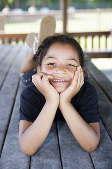 Free Little Girl Smiling Stock Photos - 14811403