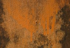 Free Orange Painted Grunge Wall Stock Photos - 14811493