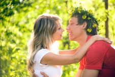 Free Young  Couples In Love Royalty Free Stock Photo - 14811825
