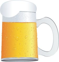 Free A Mug Of Beer Royalty Free Stock Images - 14811839