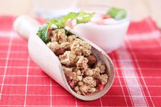 Free Breakfast Cereal Royalty Free Stock Photos - 14811868