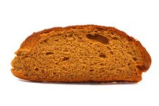 Bread Isolated On White Stock Image