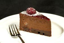 Free Chocolate Cheesecake Royalty Free Stock Photos - 14813618