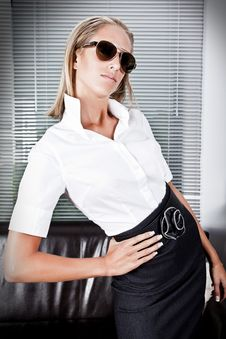 Fashion Business Exucutive Royalty Free Stock Photography