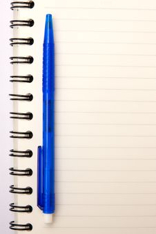 Free Paper Notebook Royalty Free Stock Image - 14814076