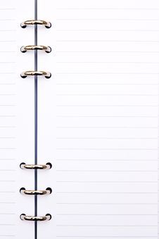 Free Paper Notebook Royalty Free Stock Photo - 14814105
