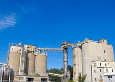 Free Cement Factory Royalty Free Stock Photos - 14814718