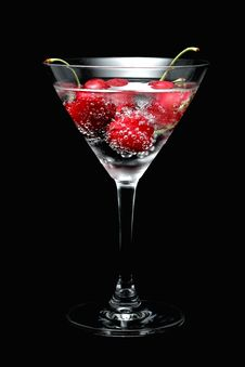 Free Sparkling Cherry Stock Image - 14815151