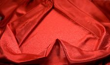 Free Elegant And Soft Red Satin Royalty Free Stock Images - 14815339