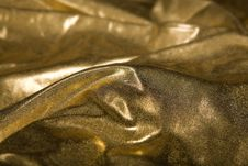 Free Abstract Gold Fabric Fold Stock Photos - 14815393