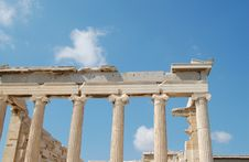 Free Erechtheion, Columns Stock Photography - 14815512