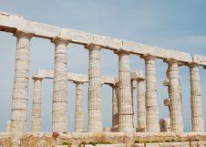 Free Greek Columns Royalty Free Stock Photography - 14815527