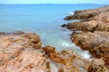 Free Reef Beside Beach Royalty Free Stock Images - 14815669