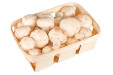 Free Mushrooms In A Basket Royalty Free Stock Image - 14815676