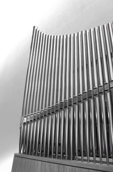 Free Organ Pipes Vertical Royalty Free Stock Photo - 14815915