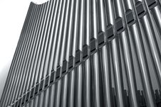 Free Organ Pipes Perspective Royalty Free Stock Image - 14815946
