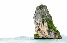 Free High Cliff On Poda Island Stock Photo - 14816450