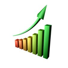 Chart V3 Stock Photo