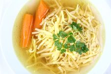 Free Chicken Soup Stock Image - 14817021