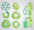 Free Most Used Recycle Signs Vector Stock Images - 14834664