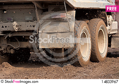 Free The Truck In The Mud Royalty Free Stock Photography - 14833967