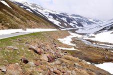 Free High Alpine Road, Timmelsjoch, Austria Royalty Free Stock Photography - 14832357