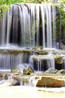 Free Water Fall Royalty Free Stock Image - 14832456
