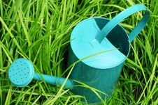 Free Watering Can In Grass Stock Photos - 14832913