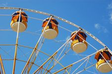 Free Ferris Wheel Royalty Free Stock Image - 14833446