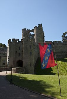 Free The Portcullis And Gate House At Warwick Castle Stock Images - 14833524