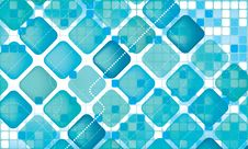 Free Abstract Vivid Blue Background Stock Photos - 14833683
