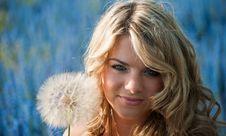 Free Blue-eyed Blonde Stock Photos - 14833903