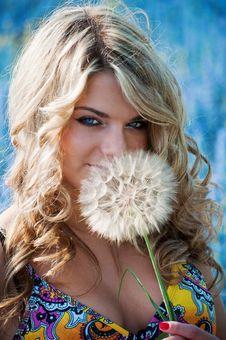 Free Blue-eyed Blonde Stock Photo - 14833940