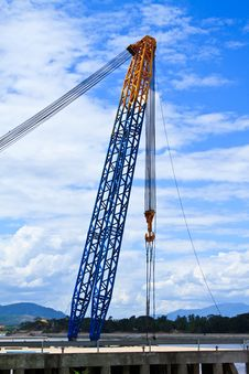 Free Crane Royalty Free Stock Photography - 14835077