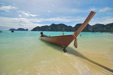 Free Thai Boat 3 Royalty Free Stock Images - 14835119