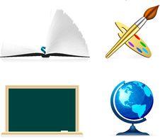 Free School Icon Stock Images - 14835674