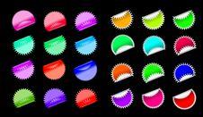 Free Illustration Of Stickers Stock Image - 14835681