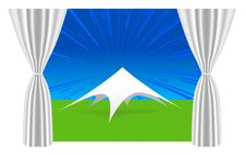 Free Large White Tent Stock Images - 14835694