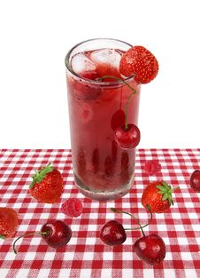 Free Red Fruit Cocktail / Beverage Stock Image - 14836181