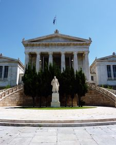 National Library Of Greece, Or Gennadeios Library Royalty Free Stock Photography