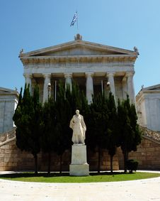 National Library Of Greece, Or Gennadeios Library Royalty Free Stock Images
