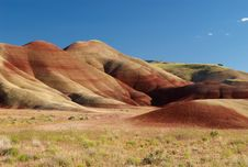 Free Painted Hills Evening, Mitchell, Oregon Stock Photography - 14836692